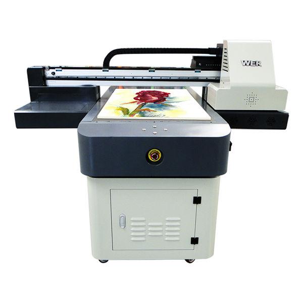 hot sale a1/a2/a3/a4 small format digital uv flatbed printer 6090