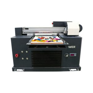 factory price high speed a2 size uv flatbed inkjet printer