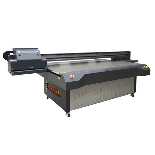 uv flatbed inkjet printer WER-ET2513UV printhead high speed