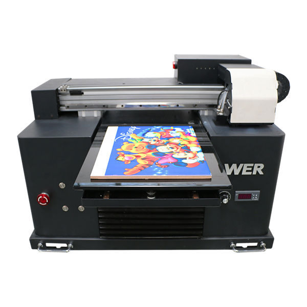 automatic phone case uv flatbed printer with 6 color printing
