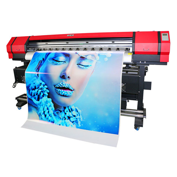 high accuracy large format inkjet printer with double dx7 print head great price