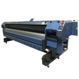 large format industrial roll to roll konica 512i solvent printer