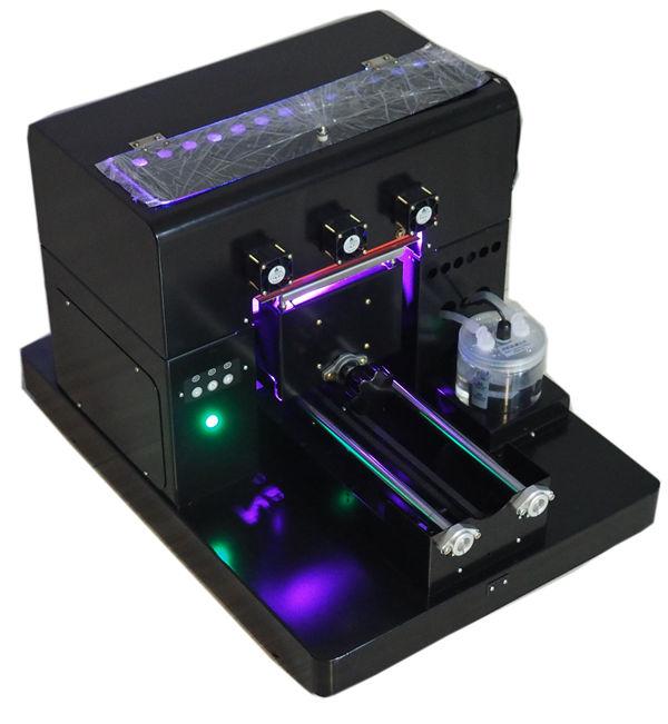 Flatbed อะคริลิลูกกอล์ฟเครื่องพิมพ์ไม้เครื่องพิมพ์อิงค์เจ็ท a4 เครื่องพิมพ์ยูวี