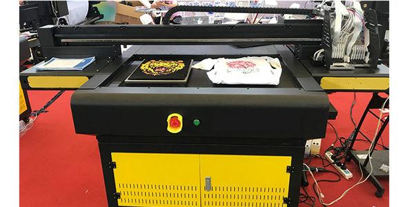 automatic uv digital inkjet label printer uv flatbed leather printer