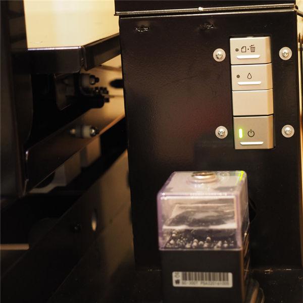 mini a3 flatbed uv printer for epson 1390 printer head 6 colors