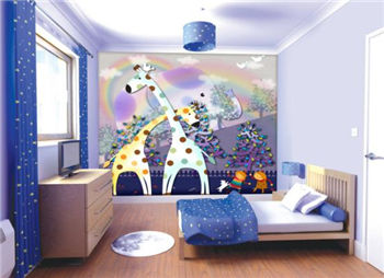 Children'room picture printing