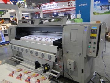 Leather printing machine