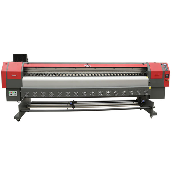 ευρείας μορφής κεφαλές εκτύπωσης μικρών πιεζοηλεκτρικών μέσων εκτύπωσης μεταλλικού οικολογικού διαλύτη