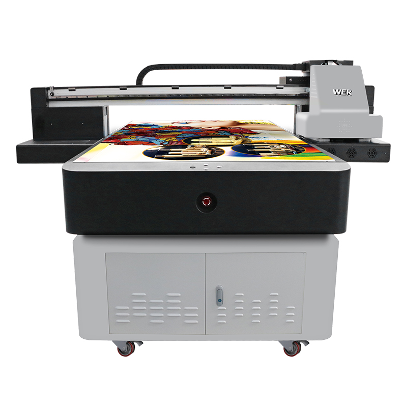 a2 a3 a4 direct jet hybrid uv flatbed printer WER-ET1510UV